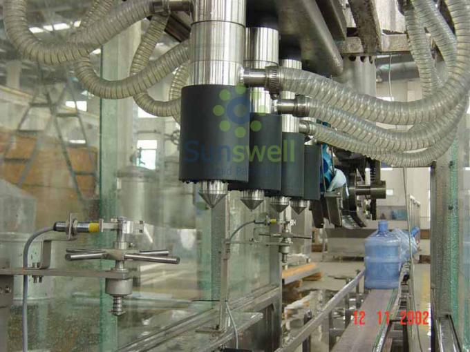 Automatic 5 Gallon Water Filling Machine With Capper For Bottled Mineral Water