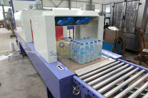 चीन High Speed Shrink Packaging Equipment , PE Film Beverage Wrapping Machinery फैक्टरी