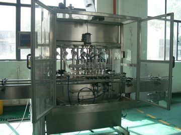 चीन Automatic Liquid  Piston Filling Machine for Bottling of cosmetics, food, thick cream, oil फैक्टरी
