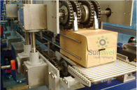 Carton Box Shrink Packaging Equipment Full Automatic With 0.6Mpa - 0.8Mpa Operating Air Pressure आपूर्तिकर्ता