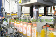Industrial Fruit Juice Filling Machine With Rinsing Filling Capping
