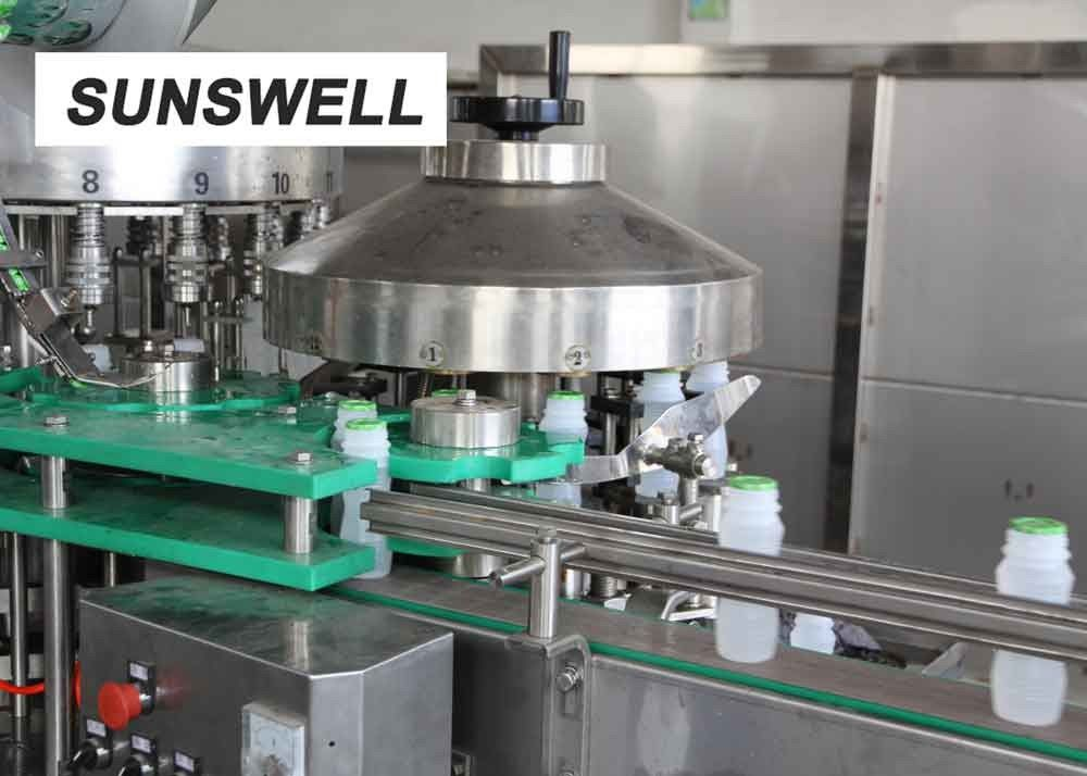 Stainless Steel SS304 Juice Filling Machine  With Safe And Reliable System