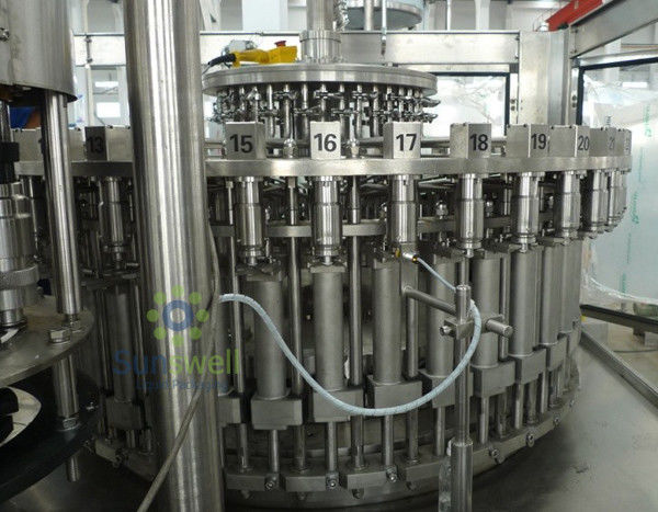 3-In-1 Automatic Juice Filling Machine 6000BPH / 500ML With Plastic Screw Cap