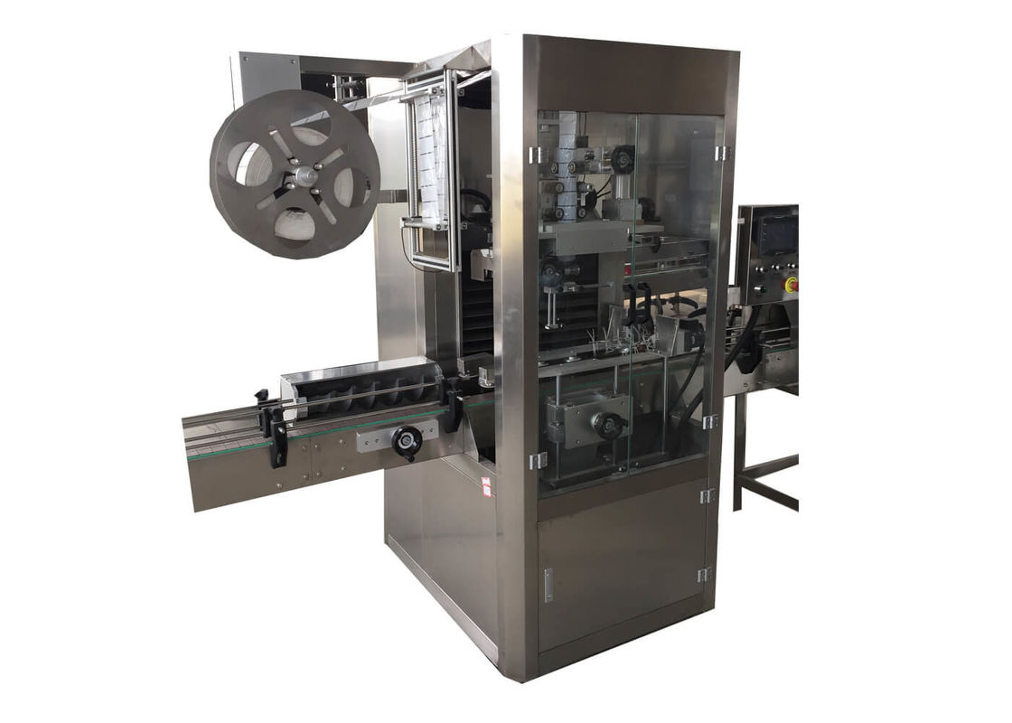 Full Automatic PVC Heat Shrink Sleeve Labeling Machine Labeler for Round/Square Plastic Bottle