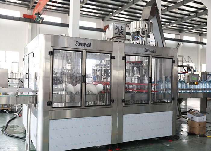 3L 5L Bottlled Water Rinsing Filling Capping Machine 3 In 1 Monoblock