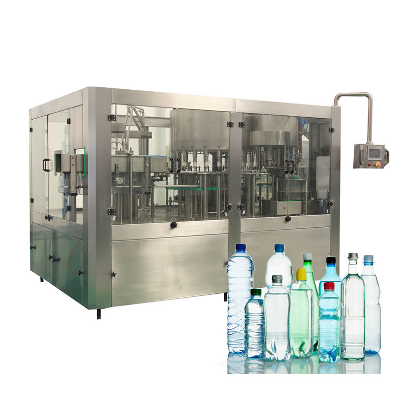 Big Bottled Mineral Water Filling Machines With Automatic Control For Water Factory