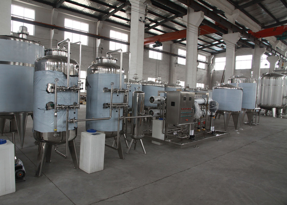 Pure / Mineral / Drinking Water Treatment Equipments RO Reverse Osmosis Plant