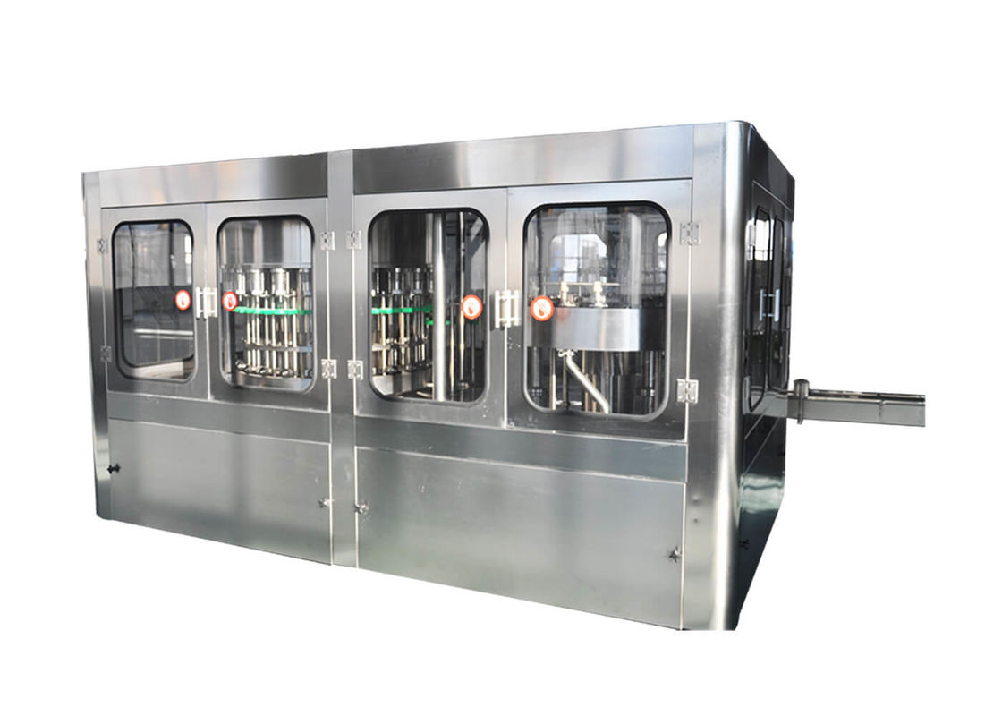Rinser Filler Capper 3- In -1 Pet Bottle Machine For Factory Water Drinking