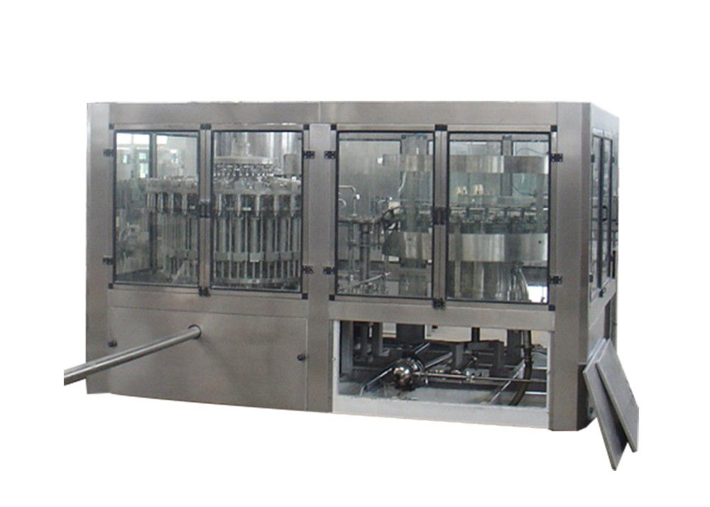 Washing Capping Packing Packaging Juice Filling Machine For 200ml -2000ml PET Bottle