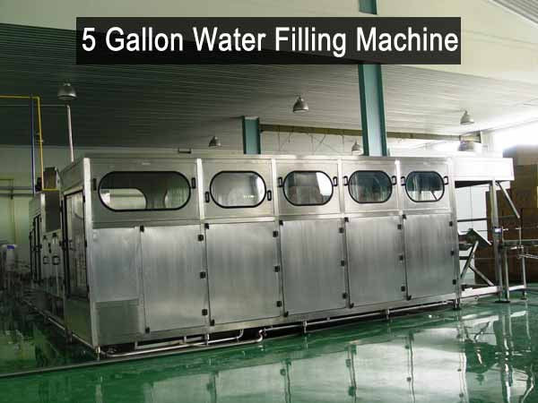 Big Bottle 5 Gallon Water Filling Machine Liquid Plant Equipment