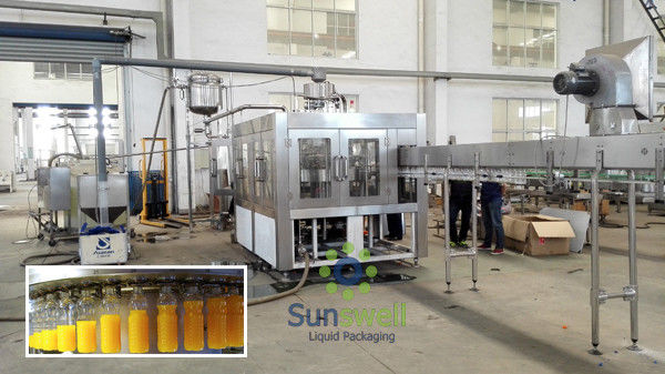Liquid Cold Milk Tea Filling Machine Electric with 380V 50HZ