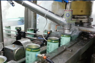 Aseptic Stable Liquid Nitrogen Dosing Machine High Speed For Possessed Individual Injecting