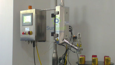 Automatic Liquid Nitrogen Dosing Machine For Bottle Cans / Juice Gas