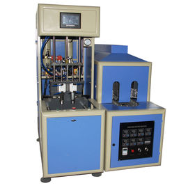 4 cavity Semi-automatic bottle Blow Molding Machine make  PET plastic containers for water